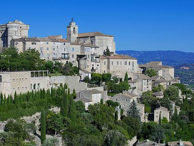 Photo for INSIDE Gordes, Gordes's apartment in the village with incredible views