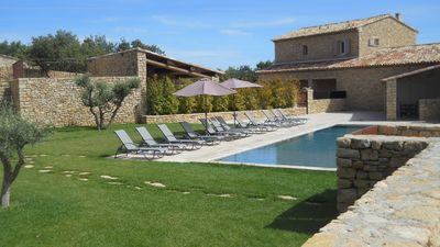 Photo for Stone house with pool in the heart of the Luberon