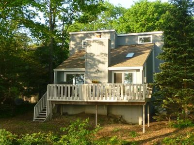 Photo for Airy Beach Cottage with Lake Views and Beach Access in Private Association