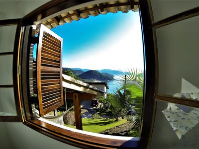 Photo for House with view to the beach and ocean equiapada SKY and WI-FI