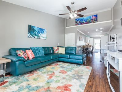 Photo for 2BR Galveston Condo on the Seawall w/ Pool