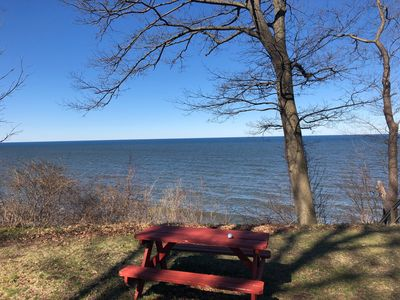 Photo for Lakeshore Cottage-Right On Lake Michigan 110' of Private Waterfront