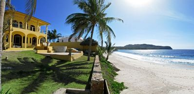 Photo for Spacious Villa  on Pristine Beach Front