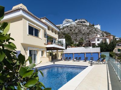 Photo for Villa Buena Vista: Amazing villa with private heated pool and fantastic views