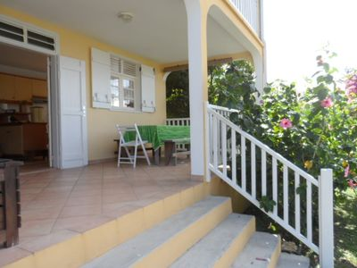 Photo for Villa Alamanda for 2-4 people within 50 meters of the Caribbean Sea