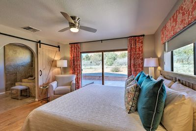 Up to 8 guests can stay in this 3-bed, 2-bath abode!