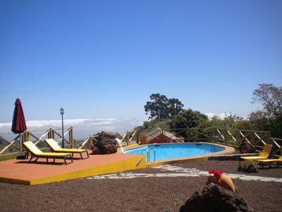 Photo for charming house in the middle of nature with pool .Ideal couples.