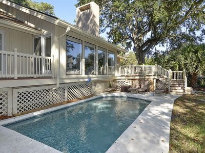 Photo for 3 bedroom, 3 bathroom home in Palmetto Dunes on Hilton Head Island with a Private pool and Lagoon Vi
