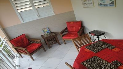 Photo for beautiful apartment 2 minutes from the beach at the Pearl, Deshaies