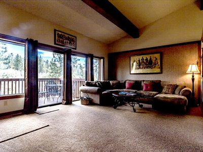 Photo for #77 Townhome with Private Beach on Lake Tahoe. Located in a Gated Community.