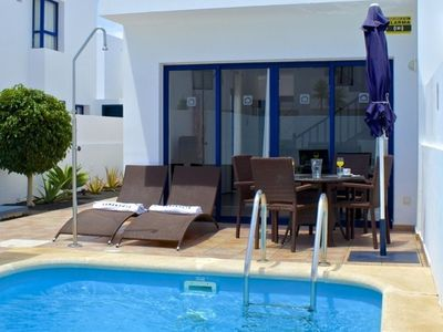 Photo for House in Playa Blanca with Parking, Internet, Washing machine, Pool (137639)