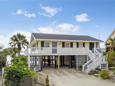 Photo for Oceanfront Home with a Spacious New Deck!