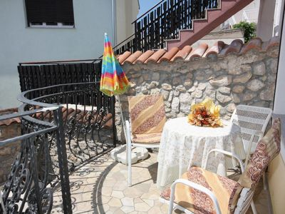 Photo for Two bedroom apartment with terrace Selce (Crikvenica) (A-5341-a)