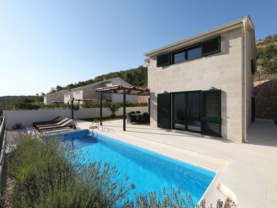 Photo for Villa Bura with private pool and unique wiew