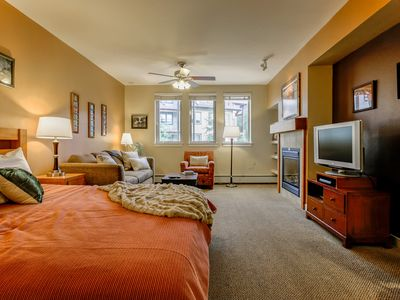 Photo for Founders Pointe 4445 by WPLCo | Bright & Private Studio | Base Area | Lots of Fun Stuff!