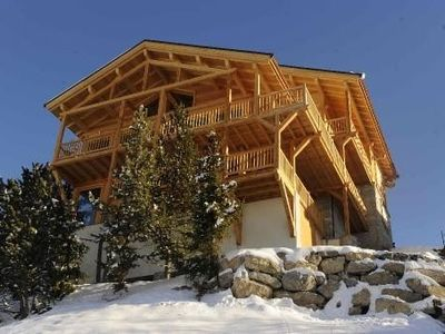 Photo for Luxury Chalet Le Grand Queyras , indoor heated pool , steam room  panoramic view
