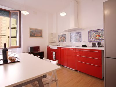 Photo for Spacious Apt Steps away from the Vatican - Apartment for 5 people in Roma
