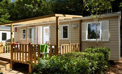 Photo for Camping Les Mijeannes *** - 4-room mobile home 6/8 people