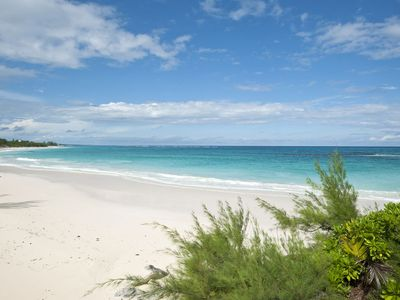 Photo for Beautifully relaxing Beach Front Cottage, Prime Banks Road Location