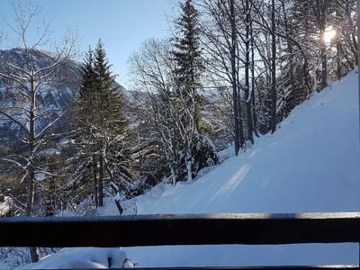 Photo for Courchevel, nice apartment standing, ski in / ski out