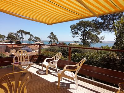 Photo for House 11 pers. 5 bedrooms SEA 100m beach Cap Ferret Le Canon