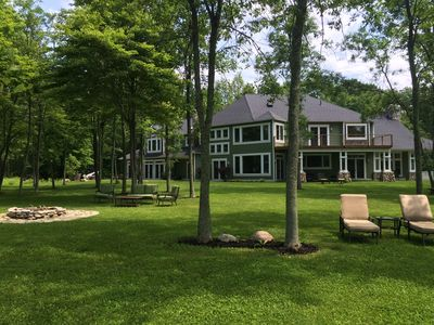 Photo for Exquisite 5 bedroom mansion on private lakefront estate