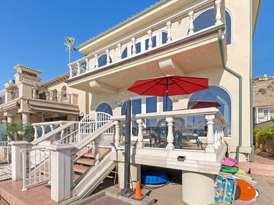 Photo for Stunning Ocean Front Luxury Home with Private Beach –  Sleeps 12