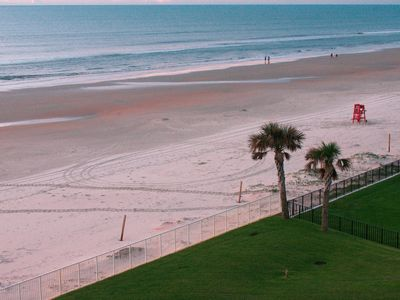 Photo for Snowbirds, Oceanfront, great Daytona Beach getaway 2br/2bt furnished.