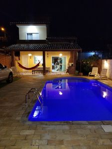Photo for Modern and comfortable house with pool 1km from Curral Beach