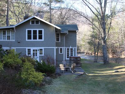 Photo for Charming 1909 Home Nestled In Woodland Valley Beside A Beautiful Trout Stream