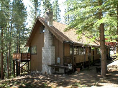 Photo for Three Bedroom Tahoe Chalet With Loft and Hot Tub-
