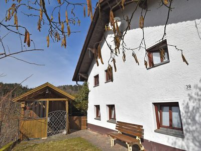 Photo for Holiday home on historical castle walls in the Bavarian Forest nature reserve