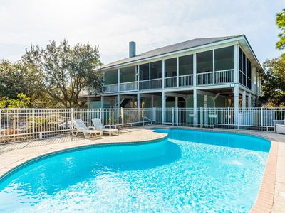 Photo for Luxurious Gulf Shores Beach Home ~ Private Pool and Private Deck!