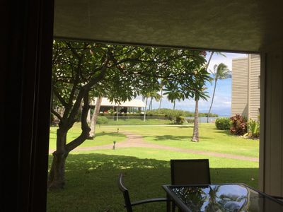 Lanai with ocean view