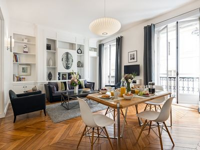 Photo for Saint-Germain Chic Two Bedroom