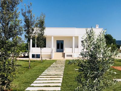 Photo for Villa in Apulia with sea view in amazing countryside
