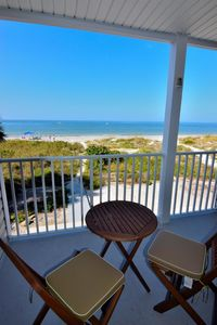 Photo for Beachfront Condo With Panoramic Views of the Gulf Plus Beach Gear, Grill & Wifi