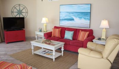 Photo for Beach Front Condo -  Dunes of Panama E906