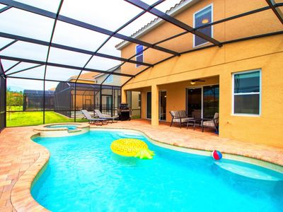 Photo for Enjoy Orlando With Us - Golden Palms Resort - Feature Packed Spacious 7 Beds 6 Baths Villa - 6 Miles To Disney