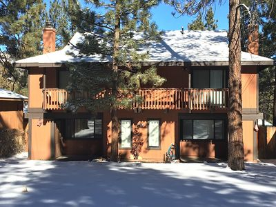 Photo for Tao cabin 23 - sleeps 12, only 2 miles to Big bear ski resorts