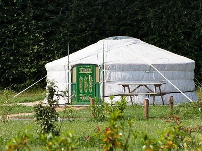 Photo for Defiplanet 'in Dienne - Yurt 1 Room 7 People