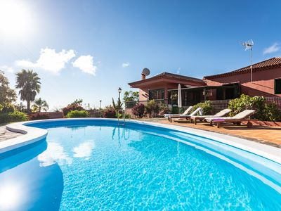 Photo for Beautiful villa full of magic spots, with a pool and many surprises.