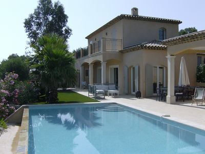 Photo for Wonderful villa located in the Golfe de St. Tropez