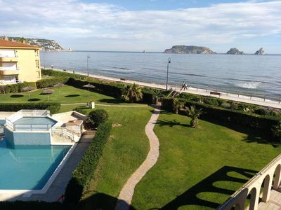 Photo for Apartment with spectacular sea views - Illes Medes