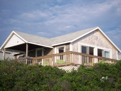 Photo for 2 Bedroom cottage Ocean views and private wrap around deck!