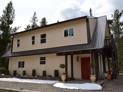 Photo for THOMAS GETAWAY WATERFRONT APARTMENT GARAGE SUITE 40 MIN. TO WEST YELLOWSTONE BBQ GRILL