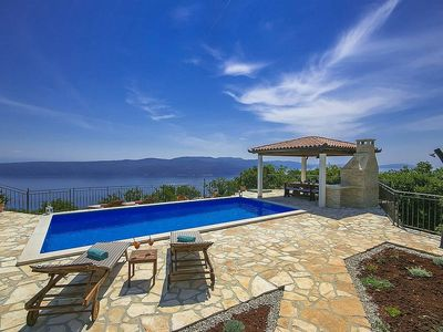 Photo for Holiday house Plomin for 6 - 8 persons with 3 bedrooms - Villa