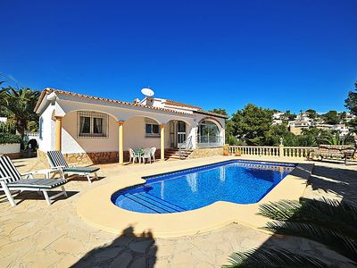 Photo for Vacation home Encinas in Moraira - 5 persons, 3 bedrooms