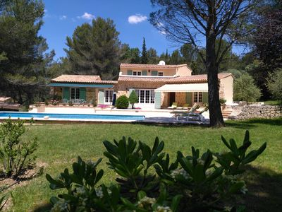 Photo for Nice Provencal farmhouse with pool