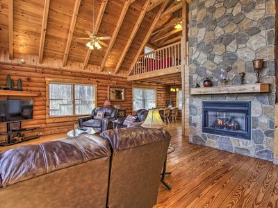 Photo for NEW! Gatlinburg Cabin w/Grill, Pool Table, Hot Tub